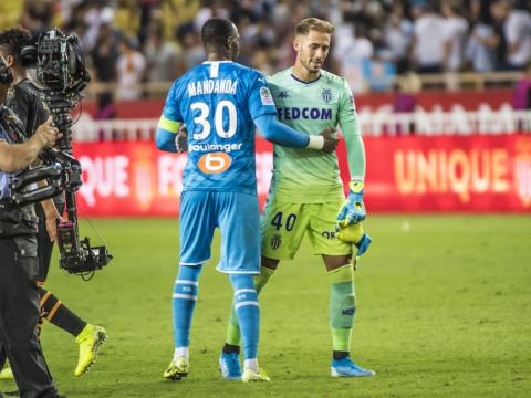Concentrados en el Olympique de Marseille