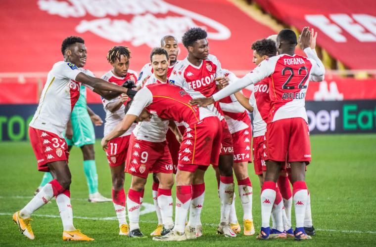 El Monaco dio una lección de fútbol ante el Angers