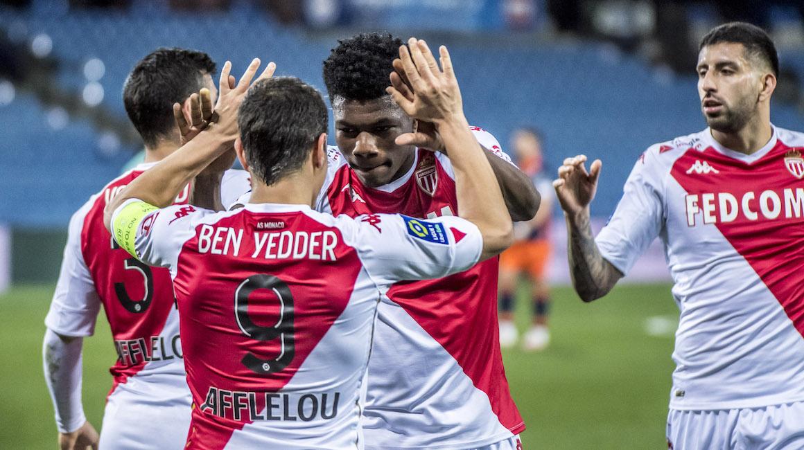 «Монако» одерживает третью победу кряду в матче с «Монпелье»