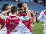 Vitória do AS Monaco contra o Montpellier