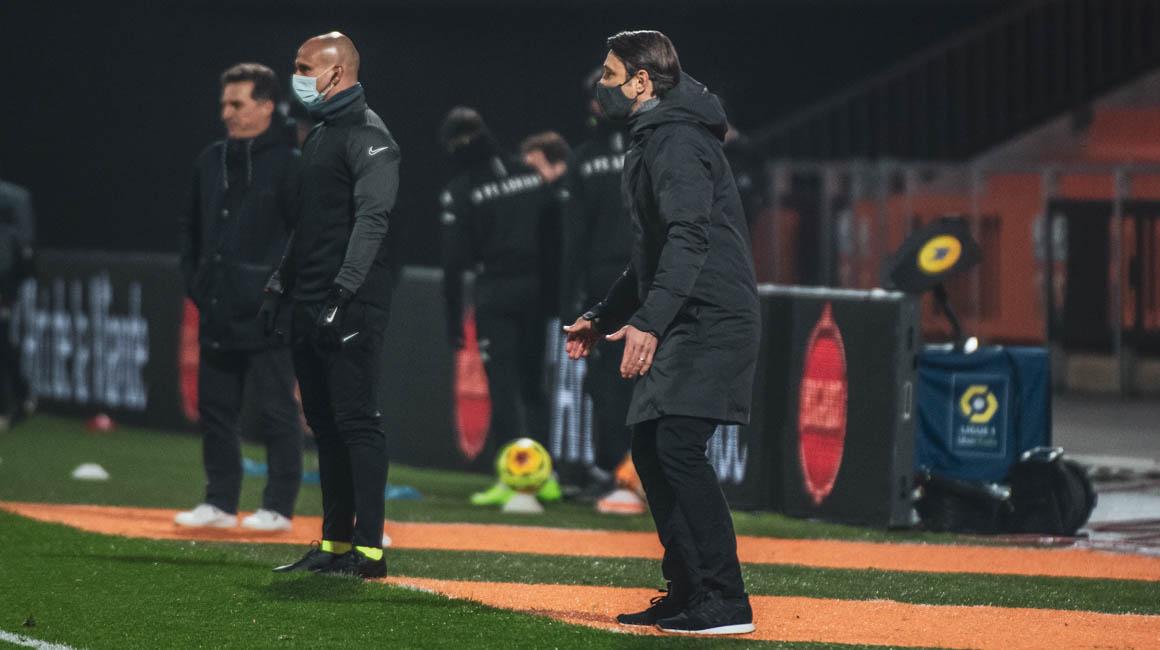 """Niko Kovac : """"L'équipe a changé de visage en seconde période"""""""
