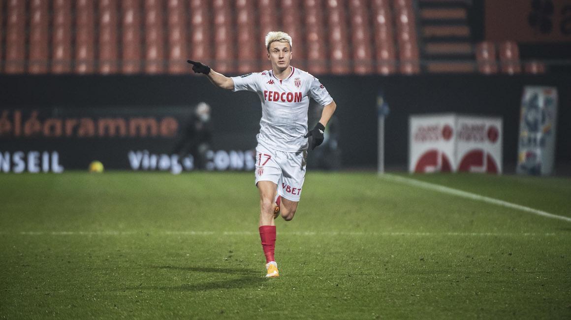 Лига 1: «Лорьян» 2-5 «Монако»