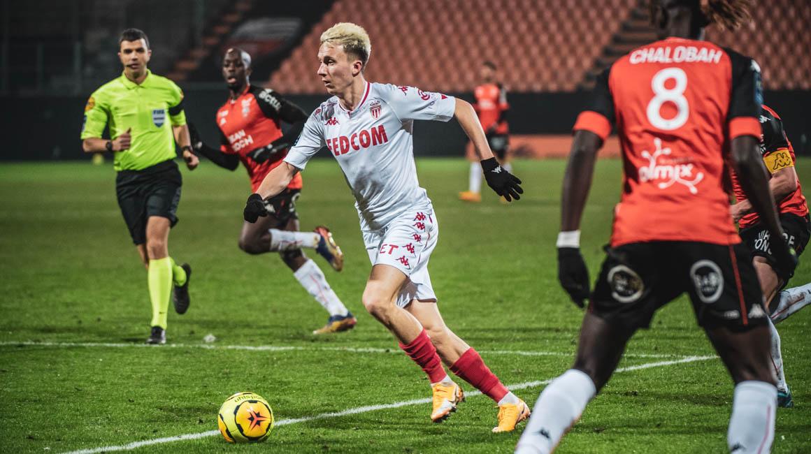 Aleksandr Golovin, el MVP IQONIQ contra Lorient