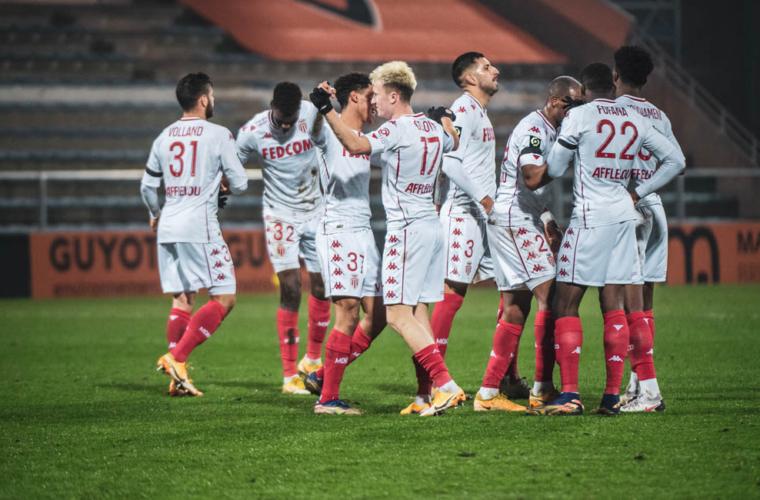 El AS Monaco comenzó el año con una goleada