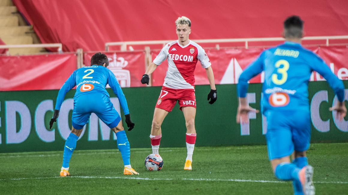 Aleksandr Golovin is AS Monaco's Player of the Month for February