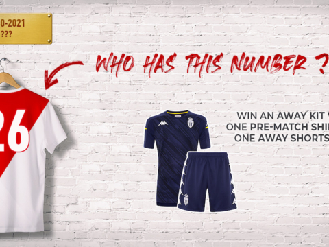 "Play ""Who wears this number?"" and win an away kit!"