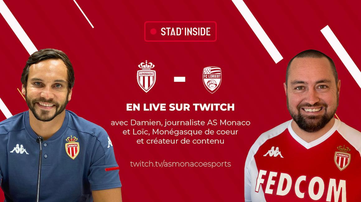 """Le """"vraininou"""" dans Stad'Inside contre Lorient"""