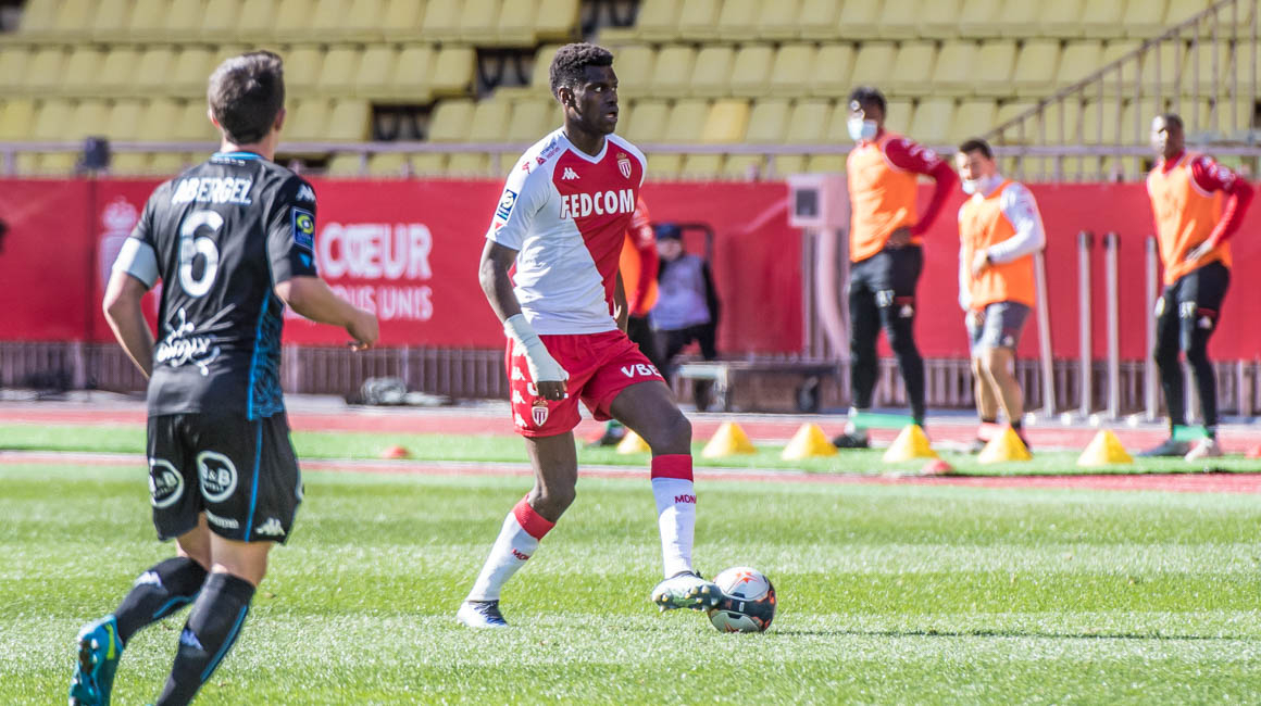 Benoît Badiashile a fêté sa 70e avec l'AS Monaco face à Lorient