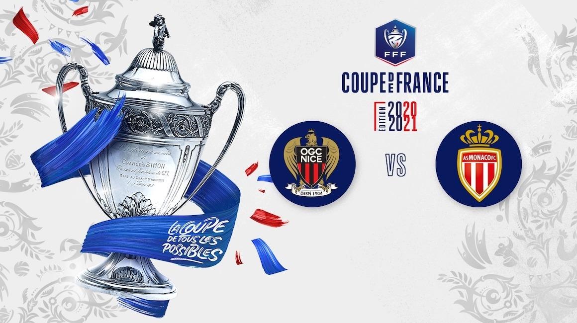 Le derby face à Nice en Coupe de France fixé au 8 mars à 21h