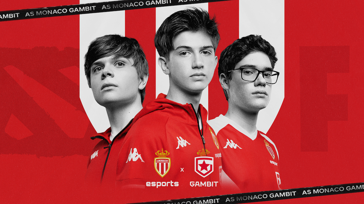 AS Monaco Esports joins forces with Gambit Esports