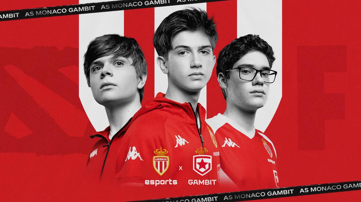 ФК «Монако» Esports объединяется с командой Gambit Esports