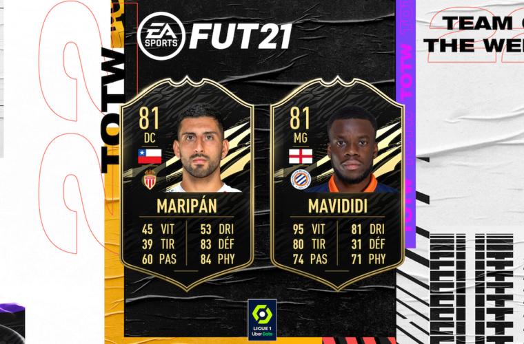 Carte boostée pour Guillermo Maripán sur FIFA Ultimate Team