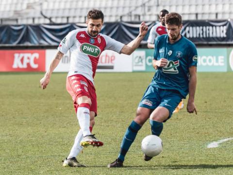 CDF : Grenoble Foot 38 0-1 AS Monaco
