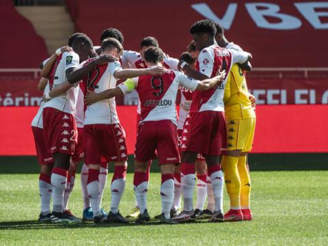 Le groupe de l'AS Monaco pour le déplacement à Strasbourg