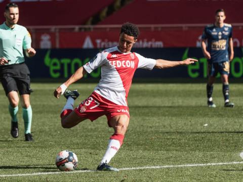 Sofiane Diop a fêté sa 50e avec l'AS Monaco face à Brest