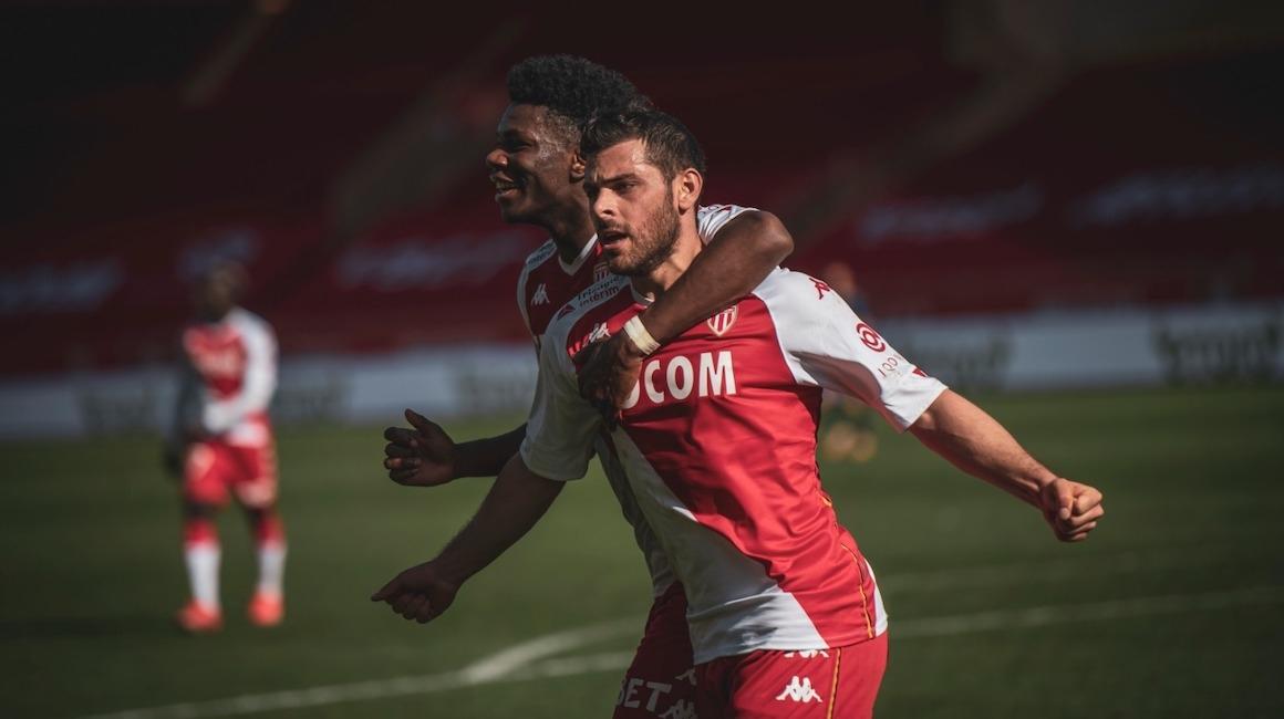 O AS Monaco vence a décima diante do Brest