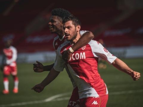 AS Monaco le ganó al Brest y sigue invicto en el año