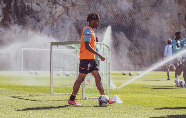 Gelson Martins de retour à l'entraînement collectif