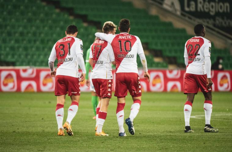 Revivez le film de Saint-Etienne 0-4 AS Monaco en vidéo