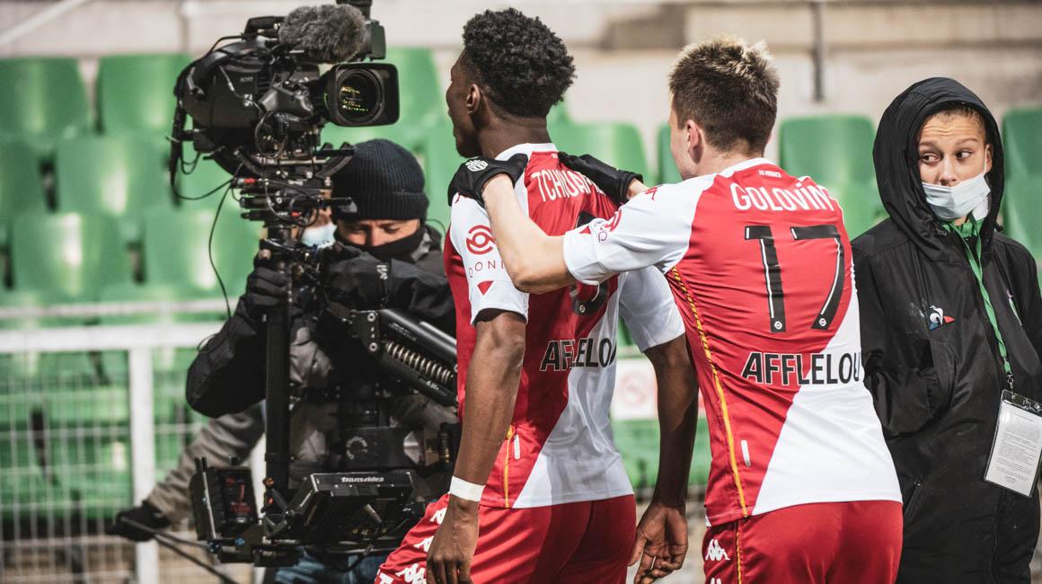 Aurélien Tchouameni é eleito IQONIQ MVP na partida contra o Saint-Étienne
