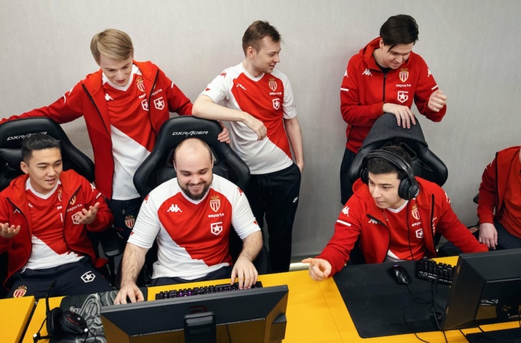 L'AS Monaco Gambit au Major de Singapour sur Dota 2