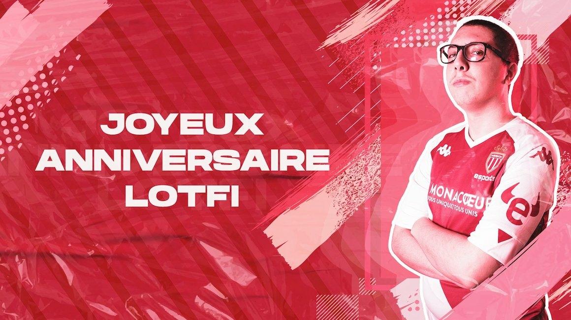 L'AS Monaco souhaite un joyeux anniversaire à Lotfi