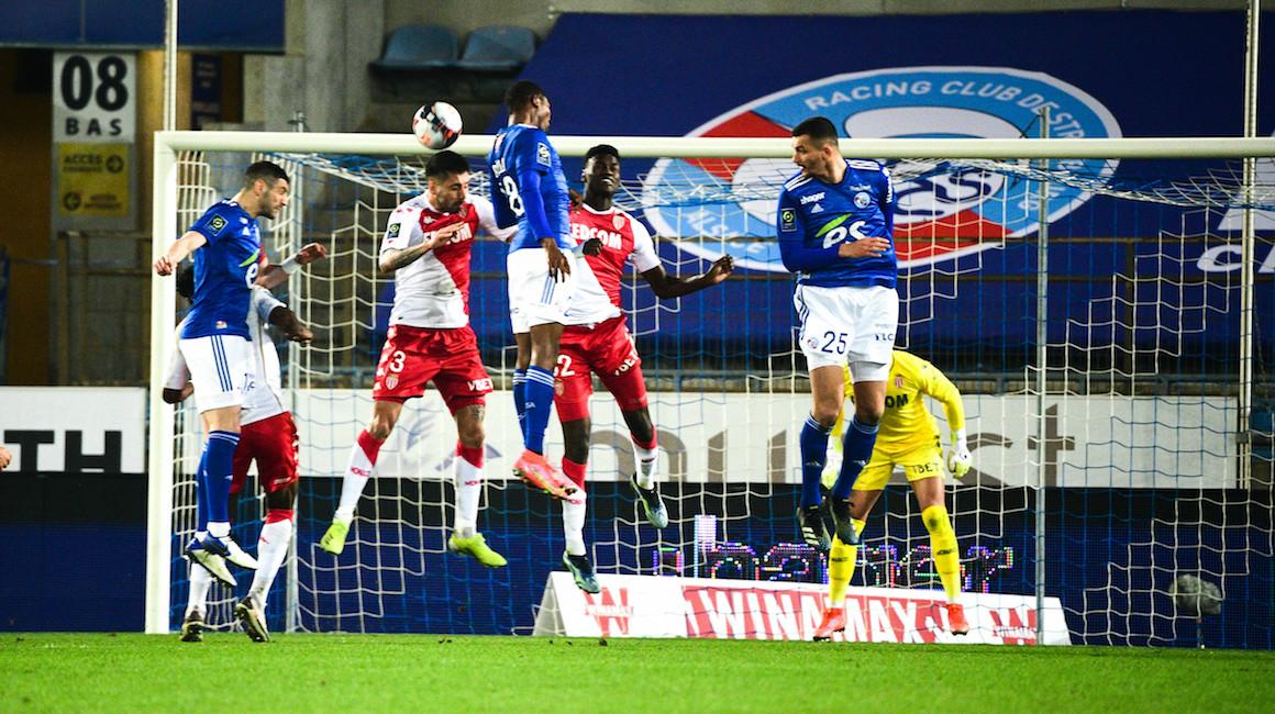 El AS Monaco cayó ante Strasbourg