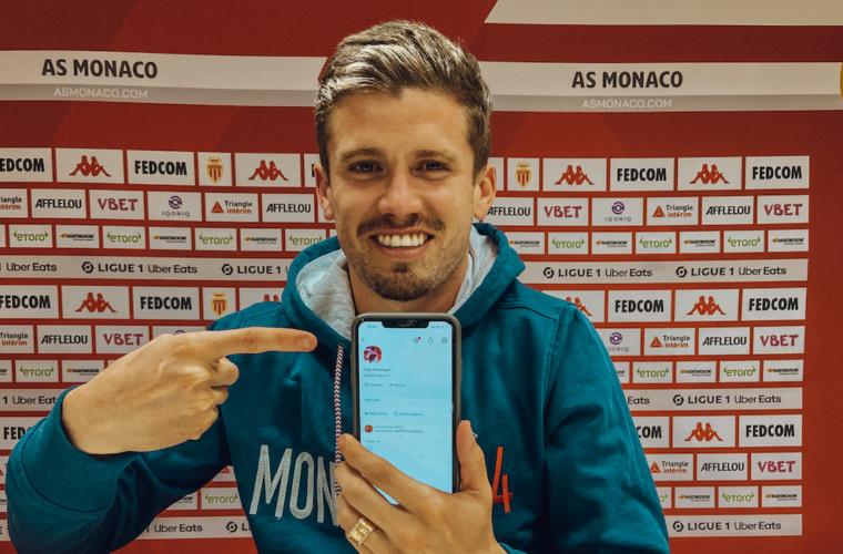 Caio Henrique fala com a imprensa brasileira no ClubHouse