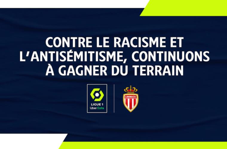 L'AS Monaco soutient la lutte contre le racisme
