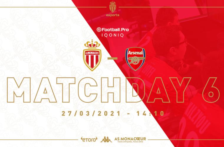 Choc face à Arsenal, leader de l'eFootball.Pro, pour la Team PES