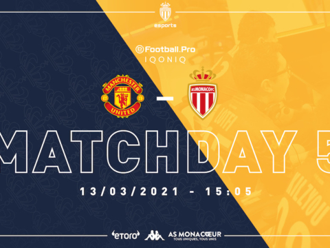 Come-back de l'eFootball.Pro samedi face à Manchester United