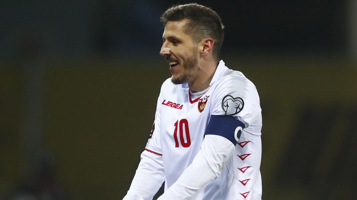 Stevan Jovetić étincelant avec la sélection monténégrine