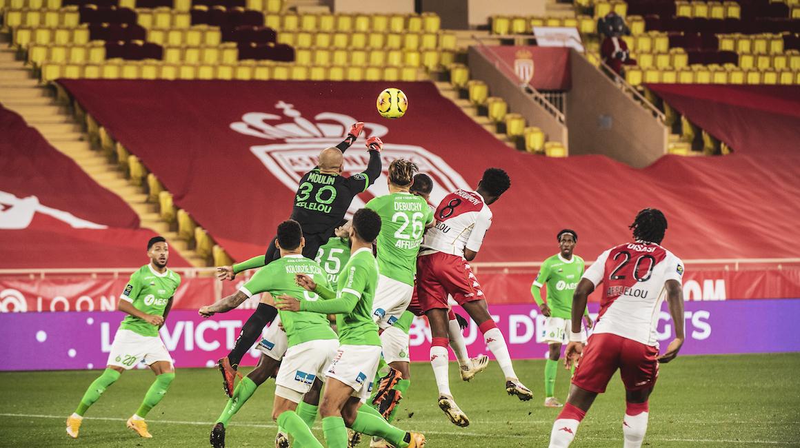 Jour de match face aux Verts