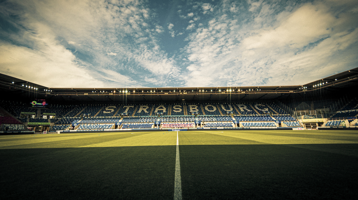 Jour de match face au Racing Club de Strasbourg