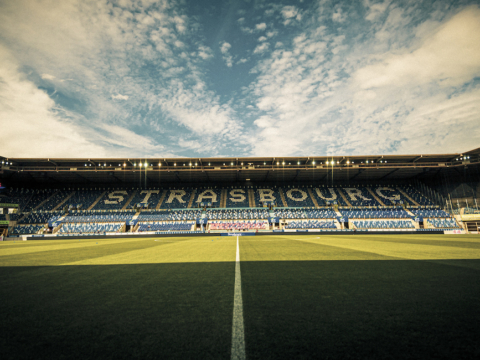 Jour de match face au Racing Club de Strasbourg