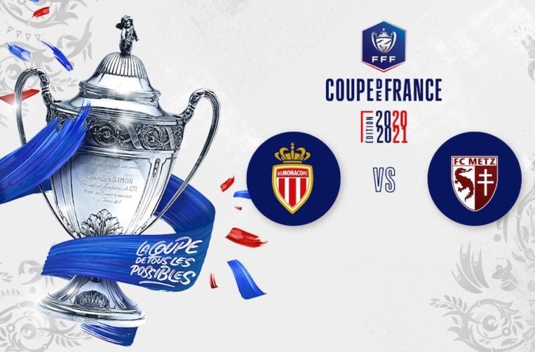 L'AS Monaco affrontera Metz en huitième de finale