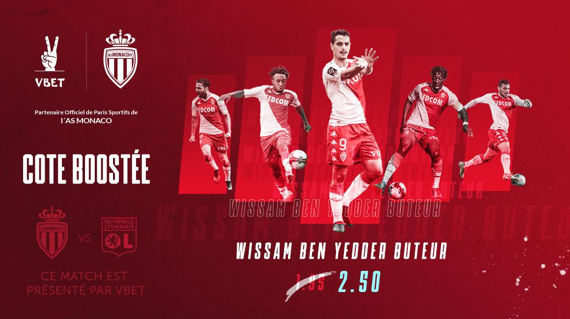 VBET booste la cote du but de Ben Yedder pour Lyon