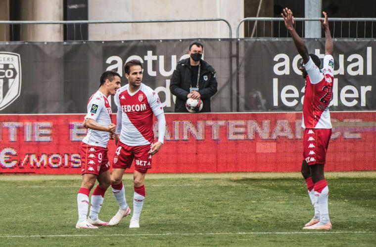 El AS Monaco logró un triunfazo ante Angers
