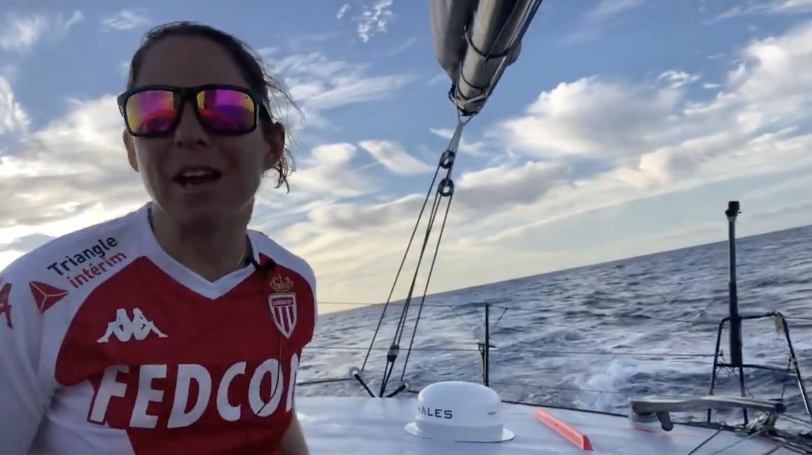Alexia Barrier témoigne via #PartoutToujours dans Monaco-Matin