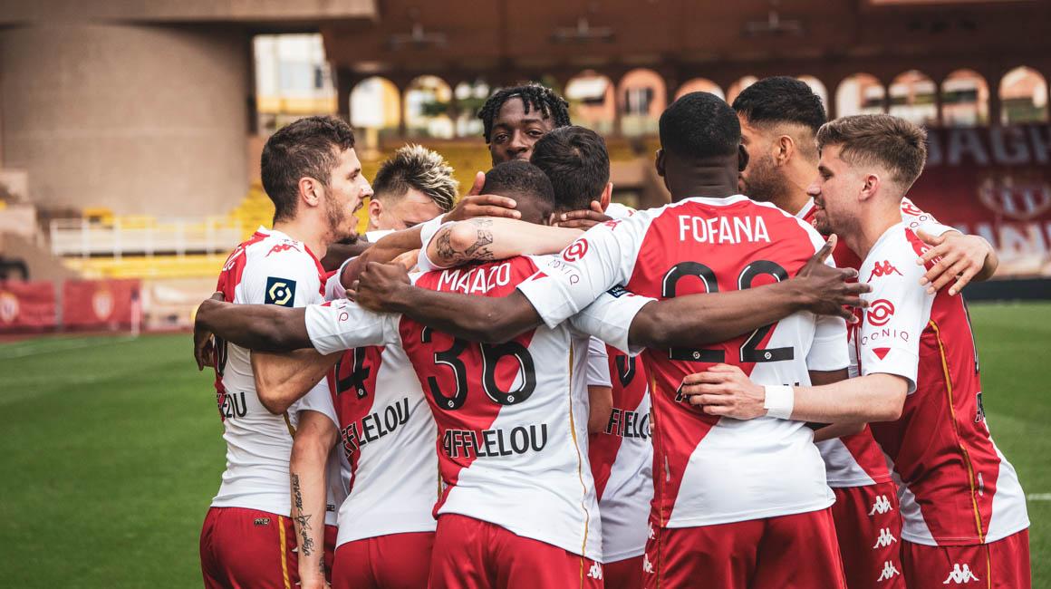 Le groupe de l'AS Monaco pour le 8e de Coupe de France