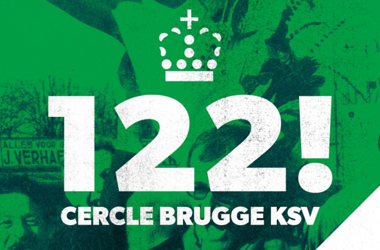 Joyeux anniversaire au Cercle Bruges, qui fête ses 122 ans d'existence