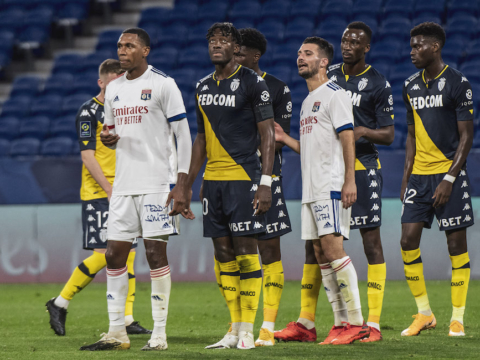 L'AS Monaco face à Lyon en quart de finale de Coupe de France
