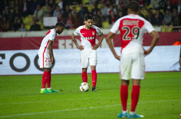 Le jour où Radamel Falcao régalait sur coup franc contre Dijon