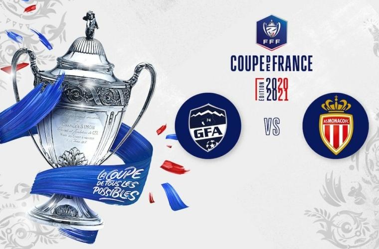CDF : L'AS Monaco face à Rumilly-Vallières le 13 mai à 21h15