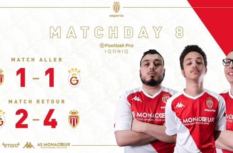 L'AS Monaco Esports prend la tête de l'eFootball.Pro