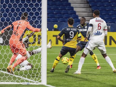 Jour de match retour contre l'Olympique Lyonnais