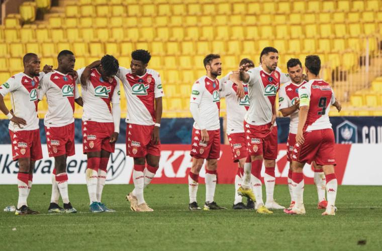 Le groupe de l'AS Monaco pour la finale de Coupe de France