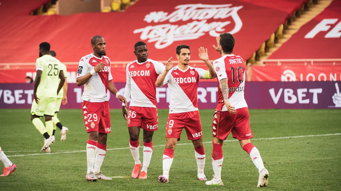 El AS Monaco venció a Dijon y ganó su 20º partido en esta liga