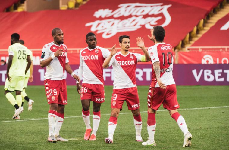 O AS Monaco mantém o ritmo e conquista a 20ª vitória sobre o Dijon