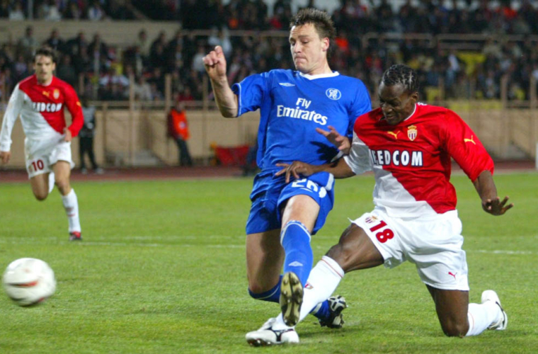 When AS Monaco beat Chelsea at the Stade Louis-II